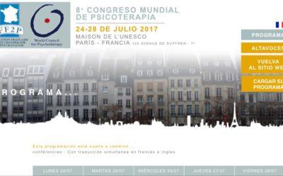 Armando García, en el Congreso Mundial de Psicoterapia