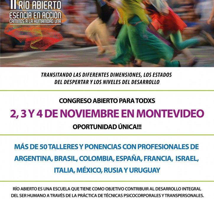 11 Congreso Internacional de Río Abierto: renace la Primavera