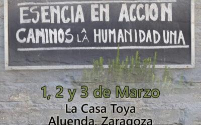 Nos encontramos en Aluenda el primer fin de semana de marzo.                                                                                                  10th annual retreat. 10º Incontro