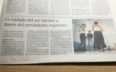 Río Abierto en el Diario de Jaén, a cinco columnas