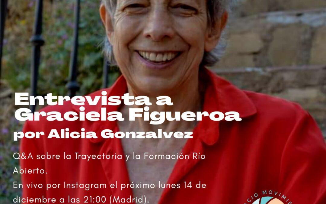 Entrevista en directo a Graciela Figueroa por Alicia Gonzálvez en Instagram