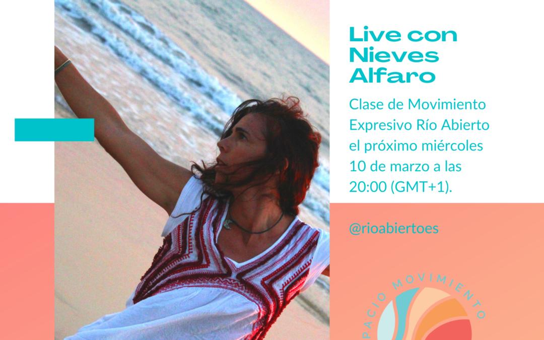 Live con Nieves Alfaro en Instagram