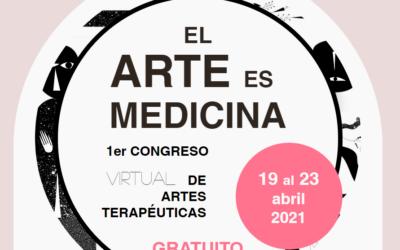 Congreso EL ARTE ES MEDICINA, con Graciela Figueroa