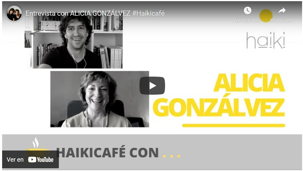#Haikicafé entrevista a Alicia Gonzálvez