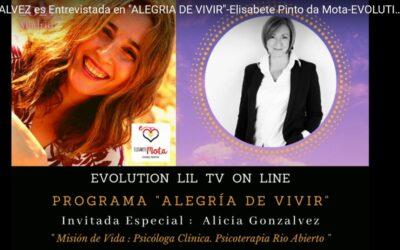 Elisabete Pinto entrevista a Alicia Gonzálvez
